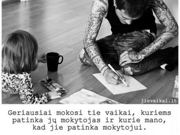 Geriausiai mokosi